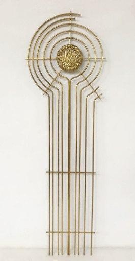 1970s Brass Sculpture