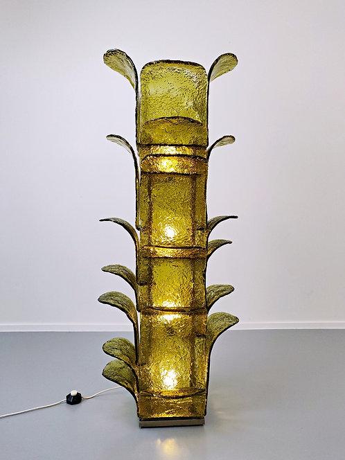 """Mid Century """"Cactus"""" Floor Lamp By Carlo Nason"""