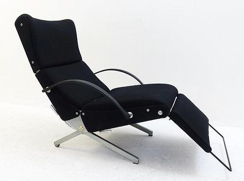 Mid Century Modern Reclining Lounge Chair By Oswaldo Borsani