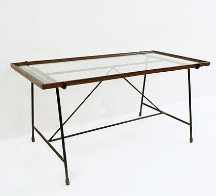 copy of Mid Century Rotating Coffee Table by Gianfranco Frattini, c.1960