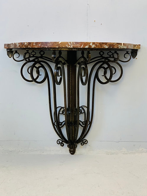 Art Deco Consol Table Italy Side