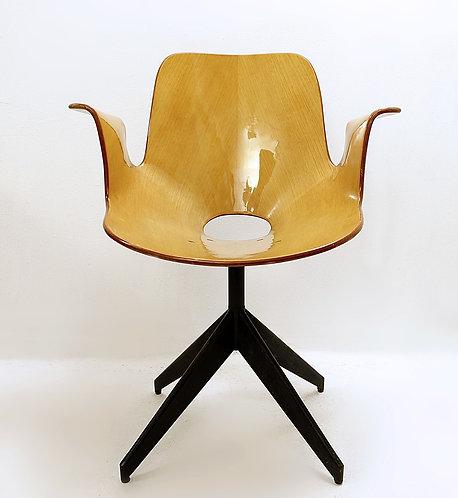 Swivel Chair 'Medea' By Vittorio Nobili For Fratelli Tagliabue