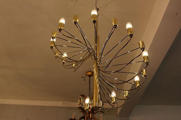 Brass Spiral Lamp