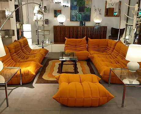 1970's sofa orange