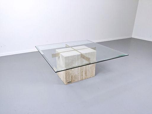 Travertine Coffee Table By Artedi