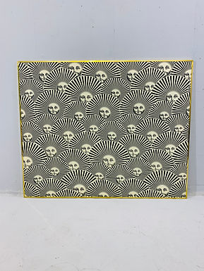 1960's Fornasetti Print on Silk (signed)