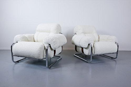 1970's luxury italian armchairs