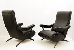 """""""Oscar"""" Reclining Armchair By Nello Pini For Novarredo, 1959"""