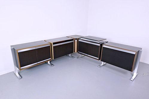 Set Of Modular Sideboard By Michel Ducaroy, Ligne Roset, 1970s