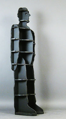 1980's Brutalist Standing Shelf by Susi and Ueli Berger