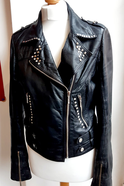 Studded black jacket