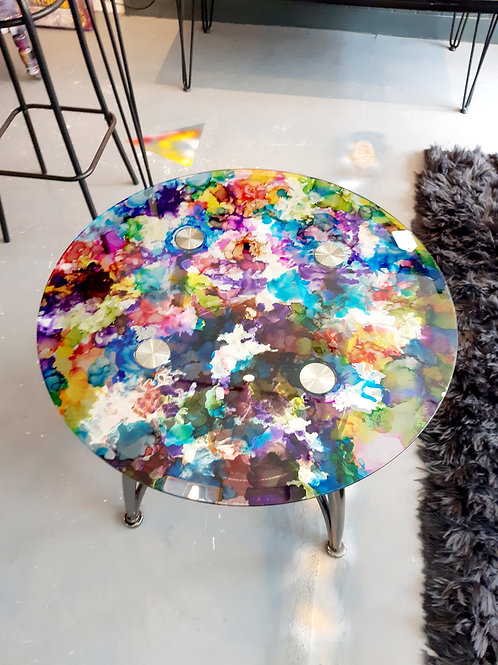 Stained coffe table