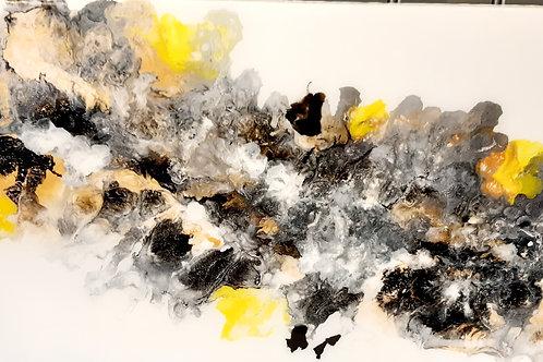 Black/yellow blowout