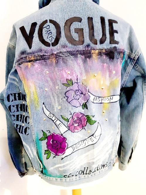 Vogue denim jacket