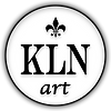 KLNart Logo, kathrynlnovak.com Art, Abstract Artist Kathryn-L-Novak, Fine Art Paintings, Fine Art Prints