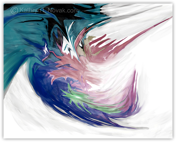 Turbulence 2, Open Edition Art Print