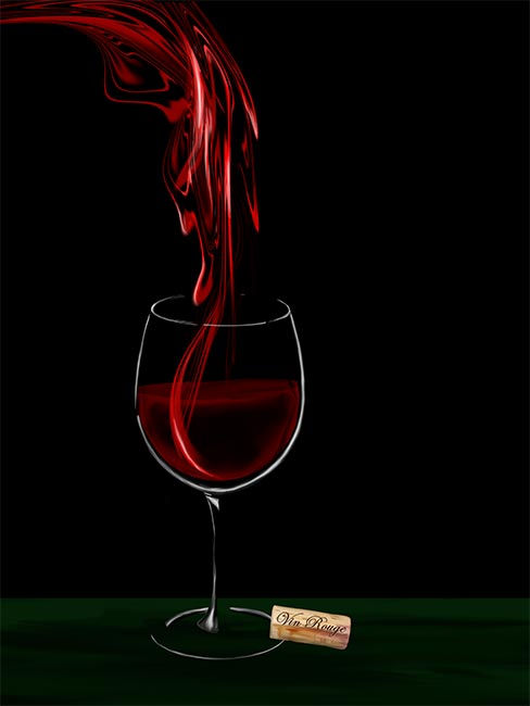 RED WINE - VIN ROUGE 2