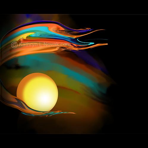Citrus Sky, Open Edition Art Print