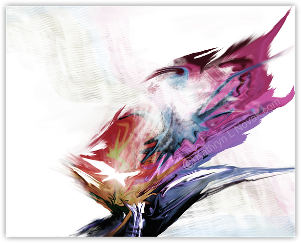 Turbulence, Open Edition Art Print