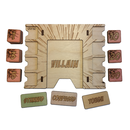 Marvel Champions Villain Board