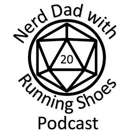 Nerd Dad with Running Shoes Podcast Logo