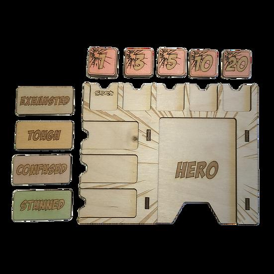 Marvel Champions Hero Board