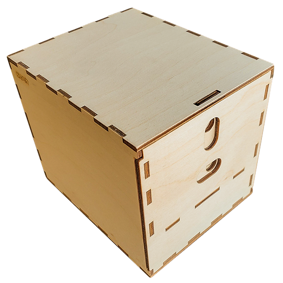 Deck Box with Large Card Holder