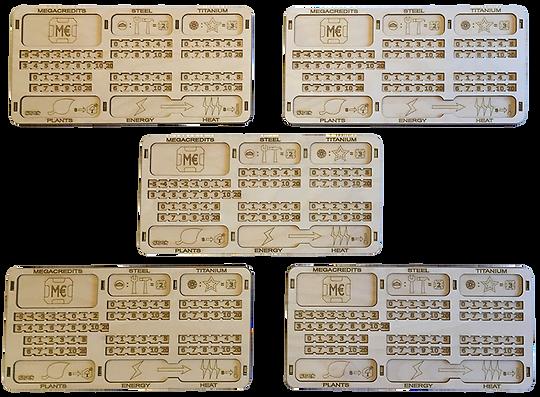 Terraforming Mars Player Board Bundle (2