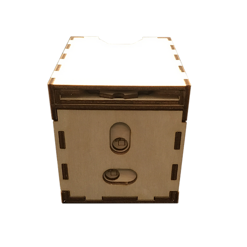 Deck Box with Removable Life Counter