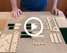 Table Dice Tower Assembly Thumbnail (225