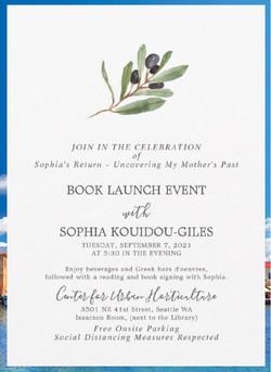 Invite Book Launch