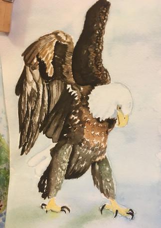 Circe as Eagle