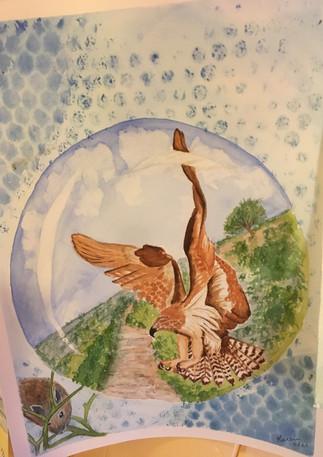 Circe Shapeshifting Hawk