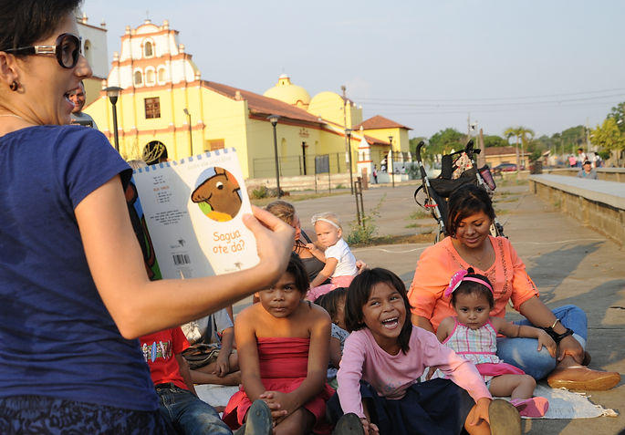 The Curiosity Circle's literacy program nurtures curiosity in communities in Nicaragua