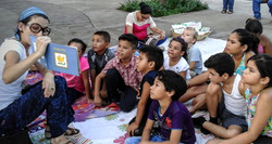 Attentive Faces at Story Hour