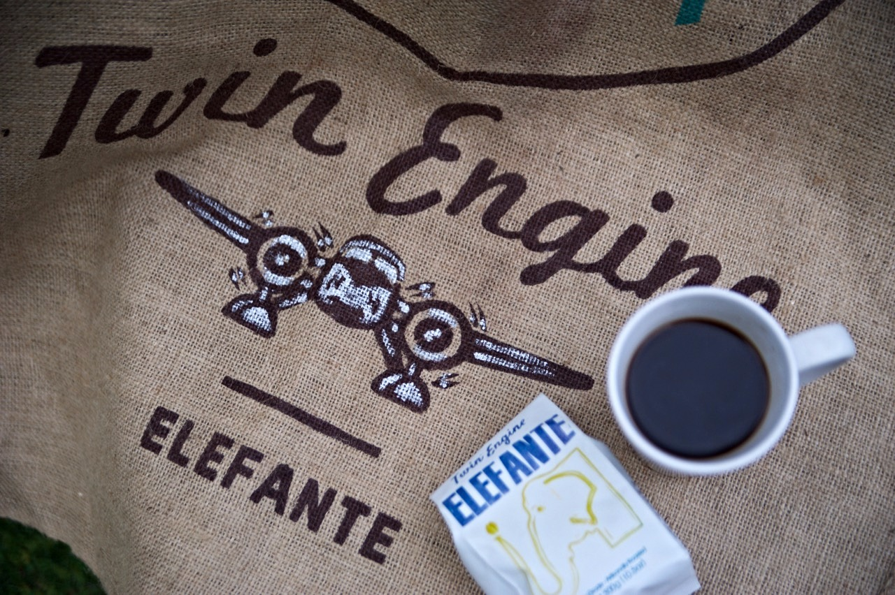 Twin Engine Elefante Coffee