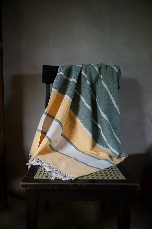 Hand-woven Green Bay Packers Throw