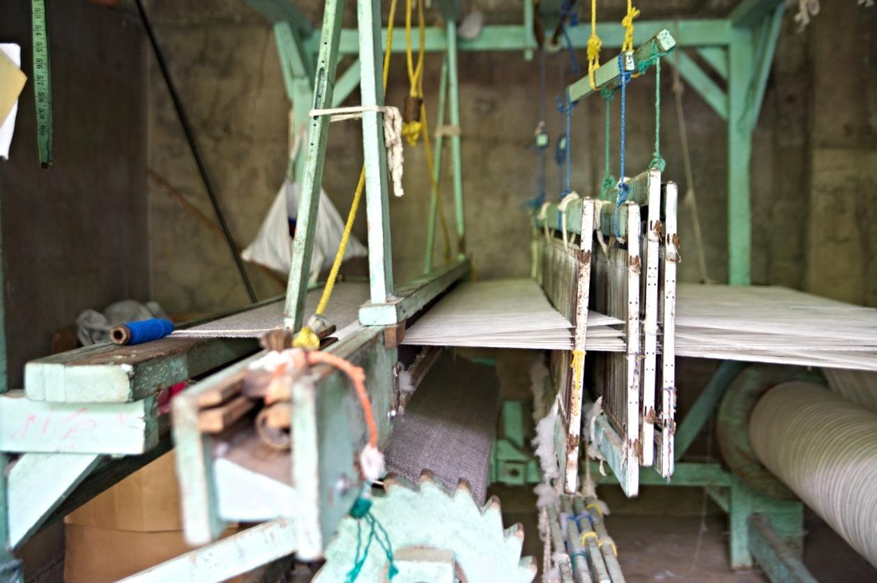 Hand-built loom