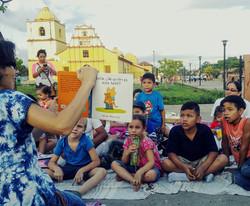 Sutiaba Plaza León, Nicaragua