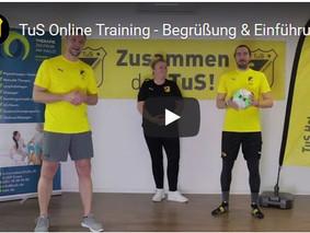 Neu beim TuS: Online Training