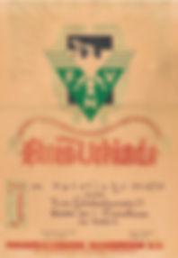 DJK TuS Holsterhausen - Meister Urkunde 1949/50