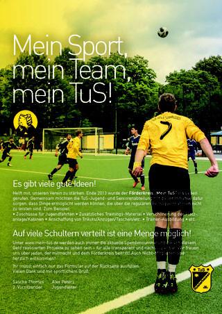 Druck Flyer Mein TuS