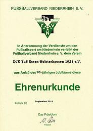 2011 Ehrenurkunde 90 Jahre.jpg