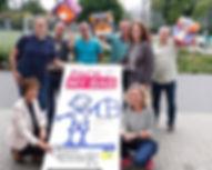 """2017 Der """"Große Stern des Sports"""" für soziales Engagement."""