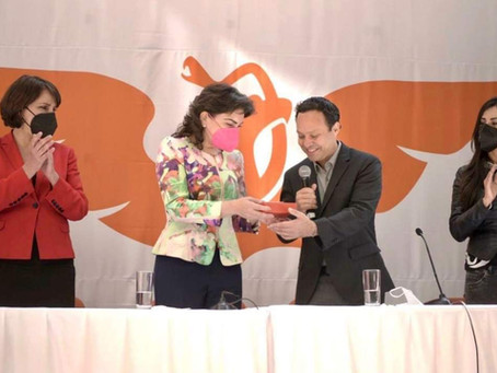 Se incorpora Ivonne Ortega a Movimiento Ciudadano.