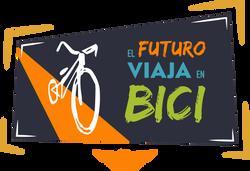 Logo el futuro viaja en bicipng