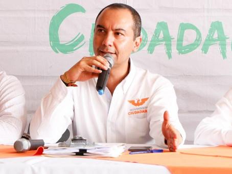 Movimiento Ciudadano ratifica su voluntad de ir solos a la elección.