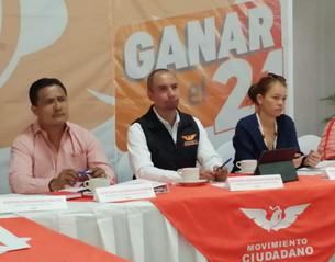 Arranca Movimiento Ciudadano proceso electoral 20-21