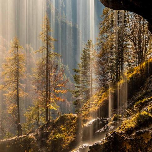 Pericnik waterfall, Kranjska Gora