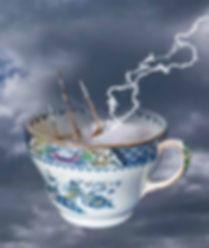 Storm in a teacup ©Gwyneth Chubb